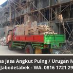 Jasa Angkut Puing Jakarta Murah Bergaransi | Buang Puing dan Urugan Jabodetabek | WA. 0816 1721 2911