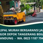 Jasa Aspal Jakarta Murah Bergaransi | Jasa Aspal Jalan Murah di Bandung & Jabodetabek | WA. 0823 1187 7947
