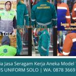 Terima Pesanan Seragam Kerja di Solo Murah Bergaransi | Melayani Seluruh Indonesia | WA. 0878 3669 1500