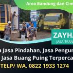 Jasa Buang Puing Murah Bergaransi | Terima Jasa Pindahan Area Bandung dan Cimahi | WA. 0822 1933 1274