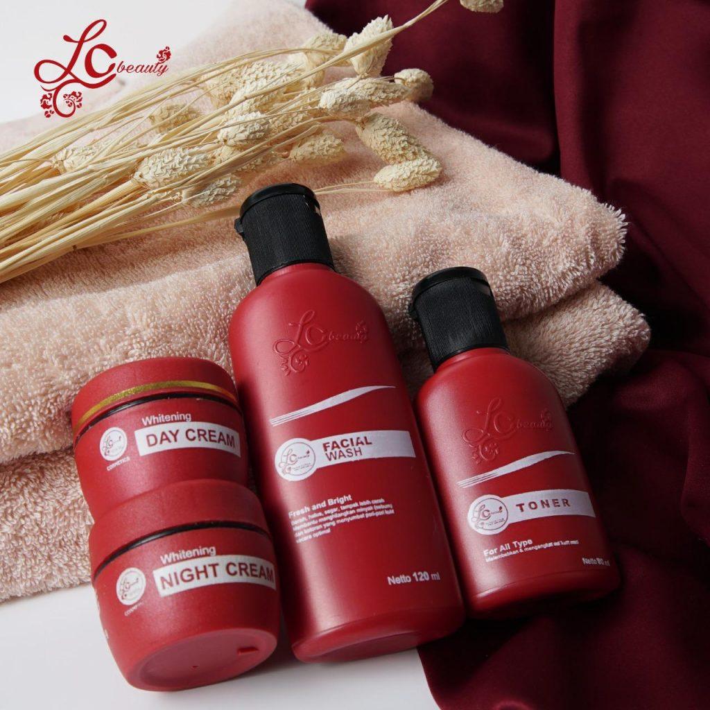 Paket Lengkap Produk Kosmetik Kecantikan LC Beauty