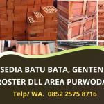 Jual Batu Bata Merah dan Genteng Murah Purwodadi   Layanan Cepat Profesional   WA 0852 2575 8716