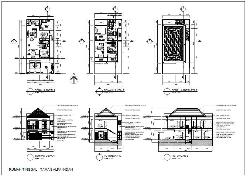 Penyedia Jasa Konsultan Arsitek dan Drafter Desain Interior