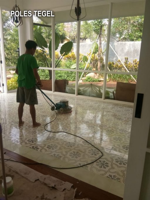 Jasa Poles Lantai Marmer Jakarta Murah Bergaransi