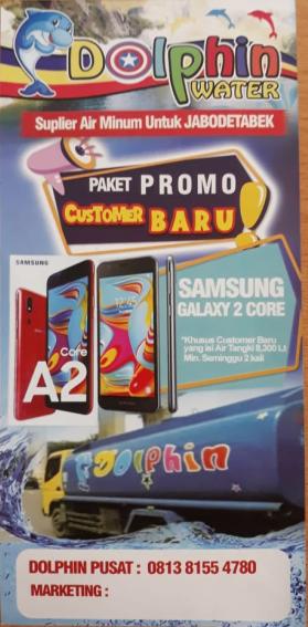 Info Promo Terbaru Dolphin Water Jakarta