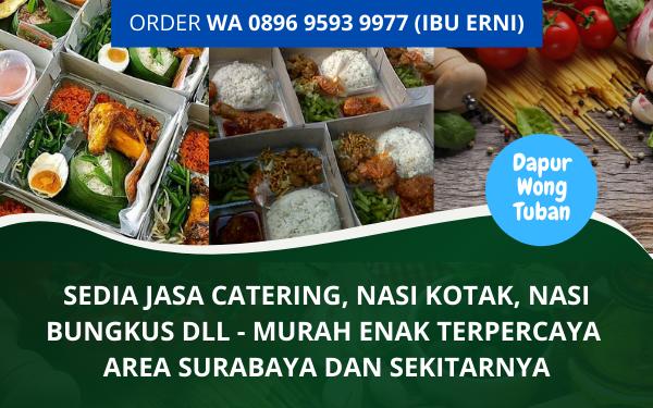 Jasa Catering Murah Enak Surabaya Terpercaya