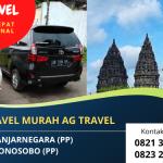 Layanan Jasa Travel Murah AG Travel   Rute PP: Yogyakarta – Wonosobo – Banjarnegara   WA  0821 3664 7586