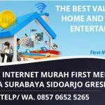 Paket Internet First Media Murah Terbaik | Harga Promo Area Surabaya Sidoarjo Gresik | WA. 0857 0652 5265