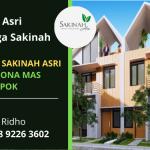 Jual Hunian Murah Keluarga Sakinah Depok | Cluster Sakinah Asri Pesona Mas Land | WA. 0858 9226 3602