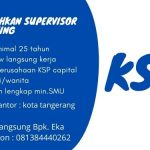 Info Lowongan Kerja Terbaru Area Tangerang | Butuh Segera Supervisor Marketing | WA. 0813 8444 0262