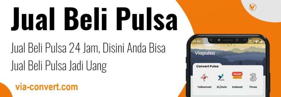Convert Pulsa Terpercaya Profesional di Indonesia