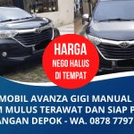 Jual Segera Mobil Avanza Mulus Tahun 2016 Murah | Lokasi Sawangan Depok | WA. 0878 7797 0833 (Panji)